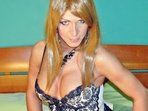 Oel, Show mit Dildo, Shemale, High Heels, Lotion, Creme, Rollenspiele