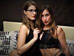 KLICK - Sexcam von AishaStorm+BritneySummer