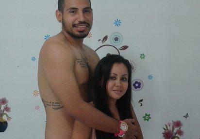 Sexcam von Thiago+Paulina komm und besuche sie live im Sexcam Chat